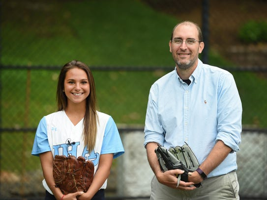 This is the On Deck video piece with IHA senior, softball