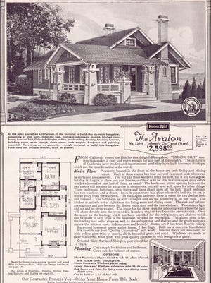 The Avalon was one of nearly 370 house available for order by Sears.