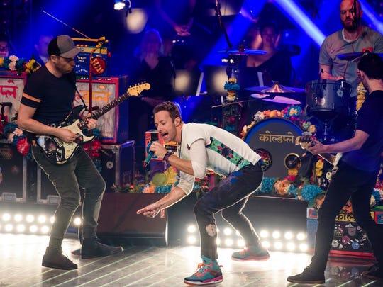 Coldplay on Dec.17, 2015 in Berlin.