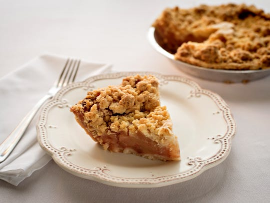 A portions of the sales of Grand Traverse Pie Companies Michigan Apple Pie benefits Gleaners.