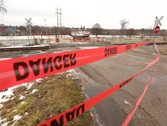 Riverside Park in Zanesville has been closed.