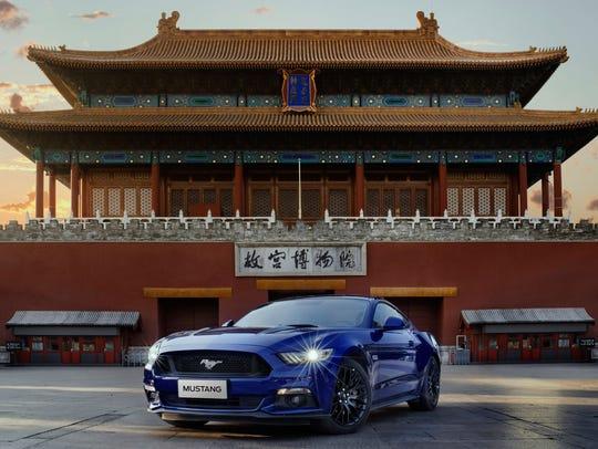 In 2017, Beijing, Shanghai, and Hangzhou led Mustang