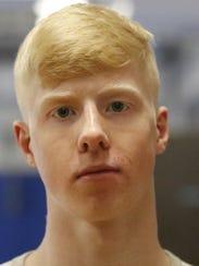 Elmira High School wrestler Noah Carpenter.