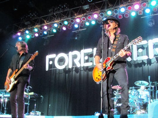 Suzie Dupree sent us these photos from the Foreigner concert she attended Friday at the Paragon Casino and Restort in Marksville.