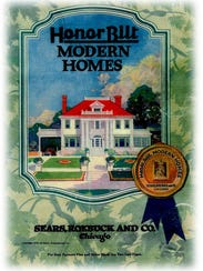 A Sears Modern Homes catalog, provided by Sears, offering