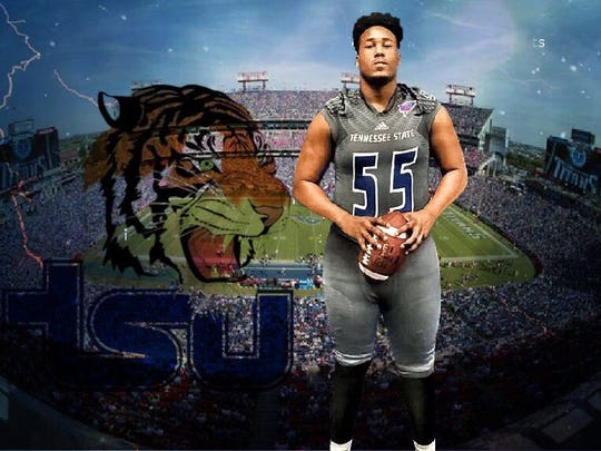 Marlon Black Jr. signed with Tennessee State.