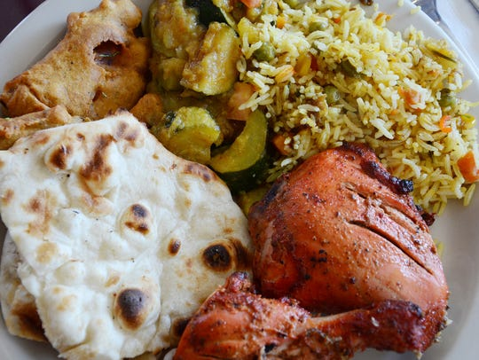 A Taste of India is known for its lunchtime buffet.