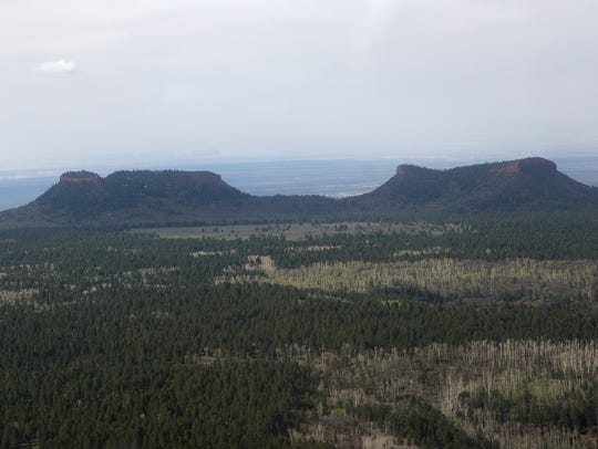 Bears Ears National Monument is pictured, May 8, 2017