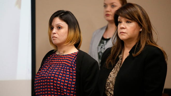 Stephanie Fernandez is on trial in the 210th District Court with Judge Gonzalo Garcia presiding. Fernandez is charged with capital murder in the death of a war veteran during a drug robbery.