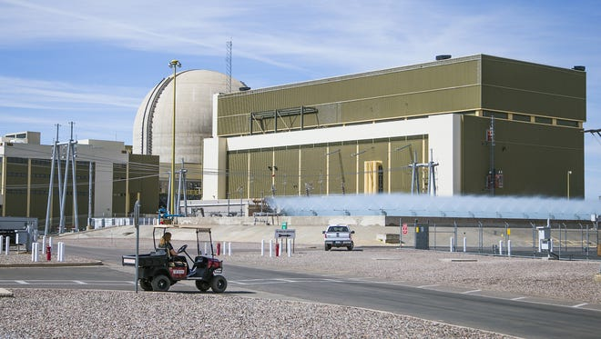 The Palo Verde Nuclear Generating Station it located about 45 miles West of downtown Phoenix in Tonopah.