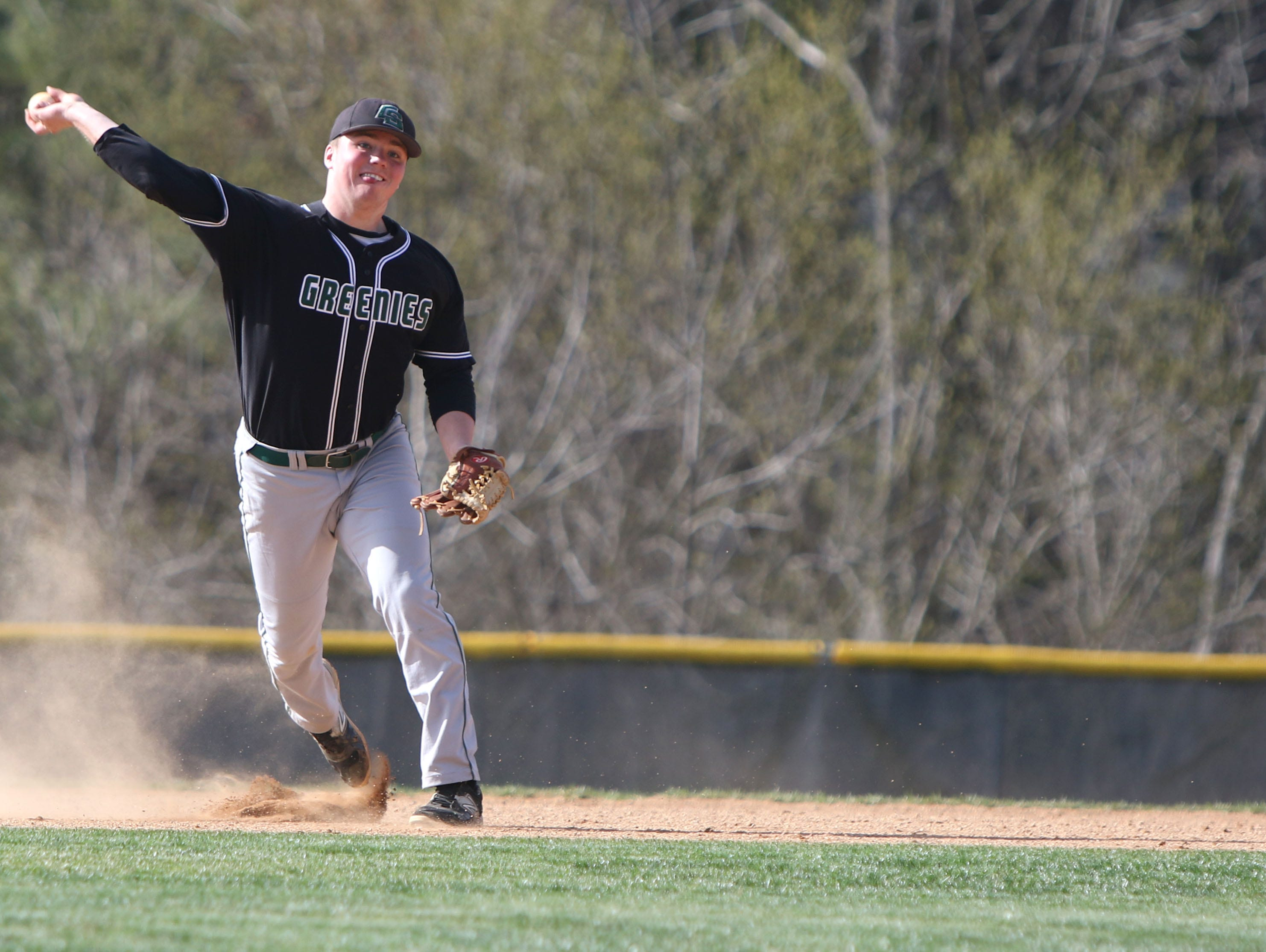 Christ School senior Ryan Zwier has committed to play college baseball for Washington (Md.).