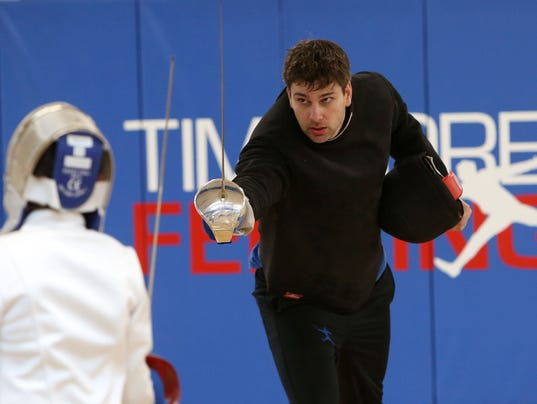 TIM MOREHOUSE FENCING