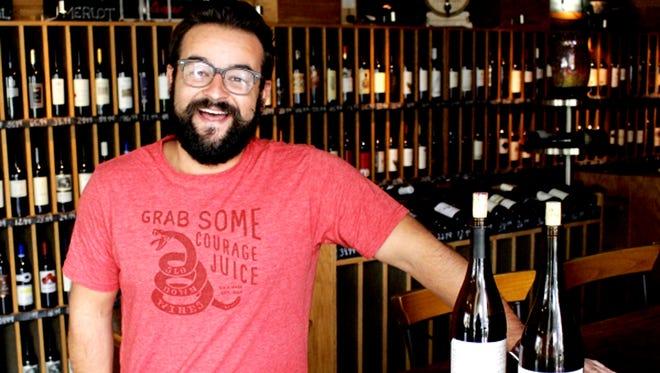 Winemaker Brandon Alen of SLO Down Wines.
