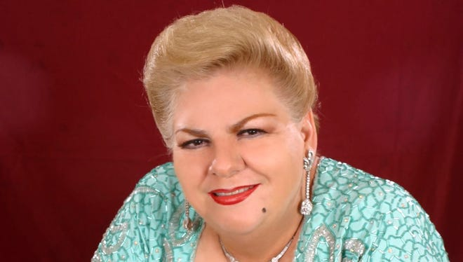 Paquita la del Barrio will be at Pepe Aguilar's tour stop June 30 at the Don Haskins Center in El Paso.