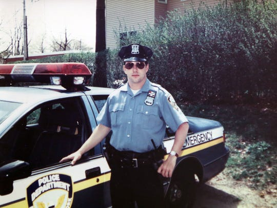 A photo of Eastchester police officer Michael Frey