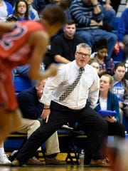 Cedar Crest girls basketball coach Jim Donmoyer guided his team to 15 wins this past season despite heavy graduation losses..