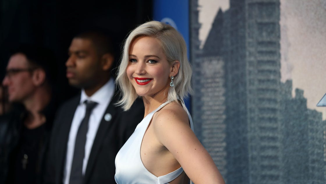 Jennifer Lawrence's meet-cute with Harrison Ford was 'humiliating'