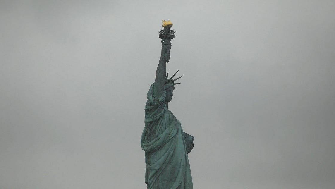 Lady Liberty Has Her Say About The Wall Mitch Albom