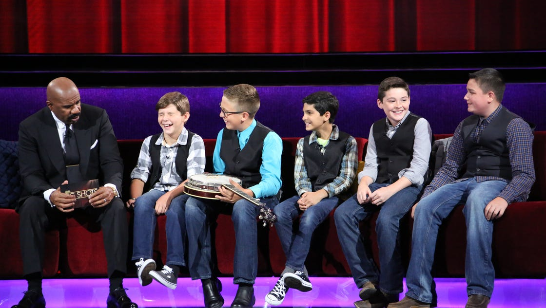 The Salty Dogs On Little Big Shots