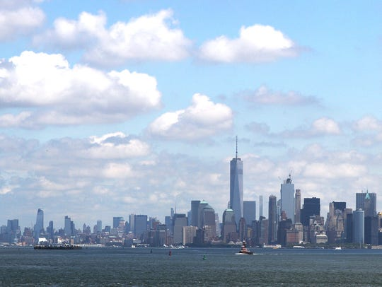 One World Trade Center or the Freedom Tower, the main