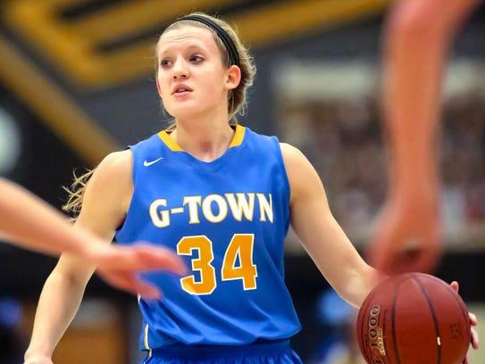 Germantown basketball star Kenzie Schmitz prepares