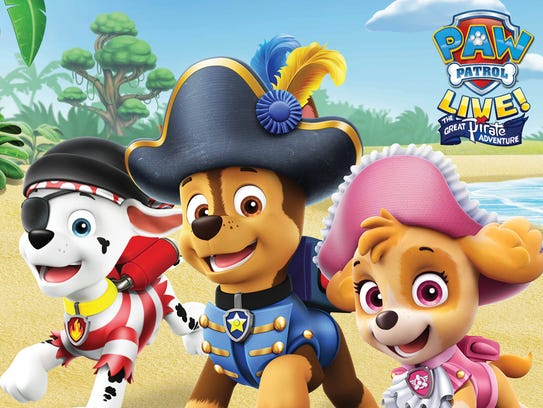 Bark in the Park brings Paw Patrol characters to the Florence Freedom ball park.