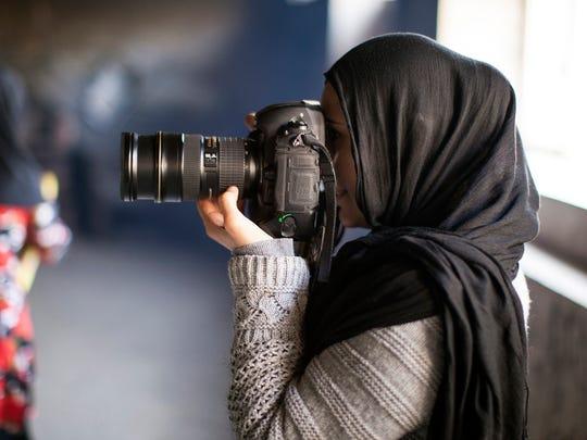 Photographer Farzana Wahidy.