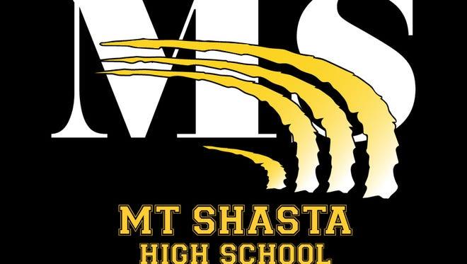 Mount Shasta High School logo.