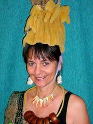 Fishy Fashion Show founder Joan Matey