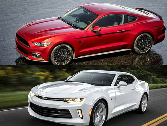 New Chevy Camaro vs Ford Mustang By the numbers