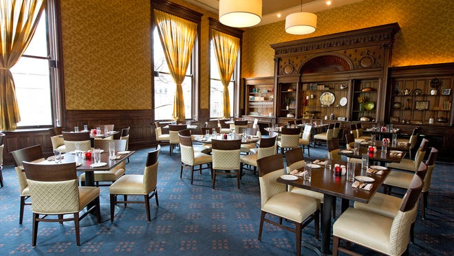 The newly remodeled restaurant, The Presidents Room, is inside the catering hall at the Phoenix.