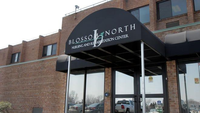 Blossom North, a nursing and rehabilitation center, located at 1335 Portland Ave.