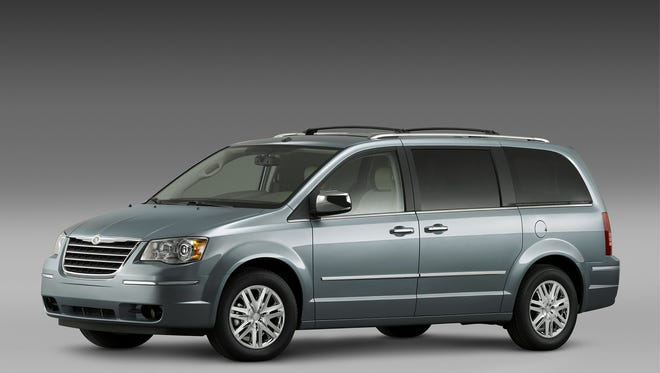 The 2008 Chrysler Town and Country is one of the additional vehicles being recalled to fix ignition switches.