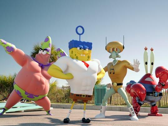 Exclusive Peek At SpongeBob In Sponge Out Of Water
