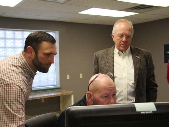 House Rep. Jim Townsend visited the Health Education