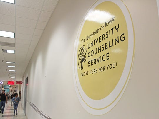 The University of Iowa Counseling Service opened a