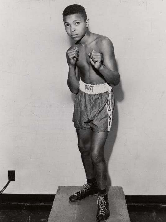 Muhammad Ali (Cassius Clay) 1954