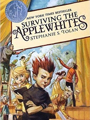 """""""Surviving the Applewhites,"""" by Neal Shusterman."""