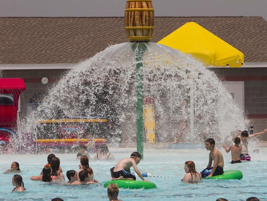 The Willard Aquatic Center opened nearly a decade ago