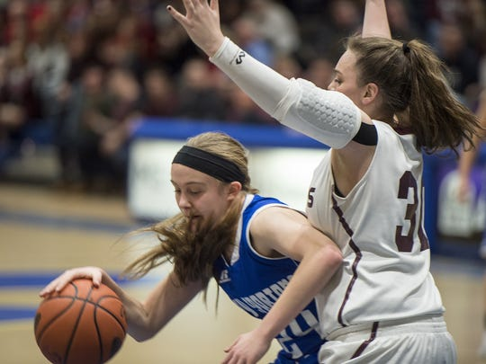 Kellyn Perry and McConnellsburg will look to shake off last year's loss when they face Northern Bedford in the District 5 Class 2A girls basketball championship on Friday at 6 p.m.
