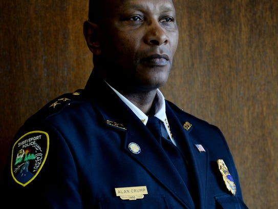 Shreveport Police Chief Alan Crump.