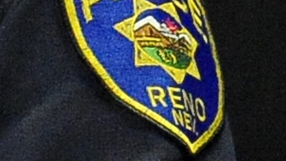 Reno police responded to a report of shots fired at