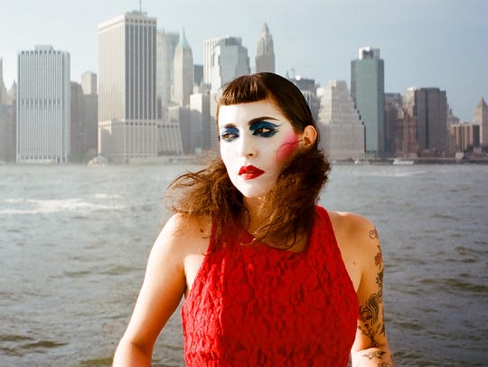 Lola Pistola performs at the Cactus Club Wednesday.