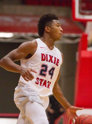 Dixie State basketball takes on Western Oregon Saturday, Nov. 26, 2016.