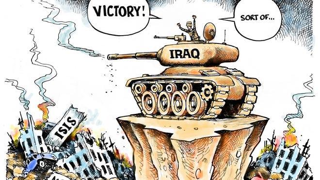 Iraq retakes Mosul