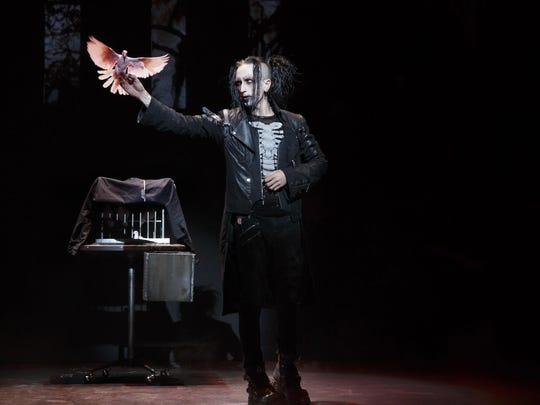 "Dan Sperry, ""The Anti-Conjuror,"" has been described as Marilyn Manson meets David Copperfield for his combination of magic with the macabre."