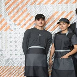 Are McDonald's new uniforms the look of Star Wars villainy?