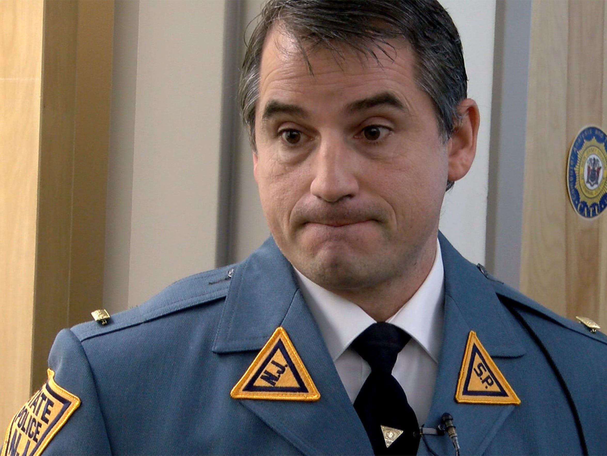 NJ State Police Lt. John Pizzuro, the commander of