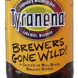 The Devil Made Me Do It, from Tyranena Brewing Co. in Lake Mills, Wis., is 8% ABV.