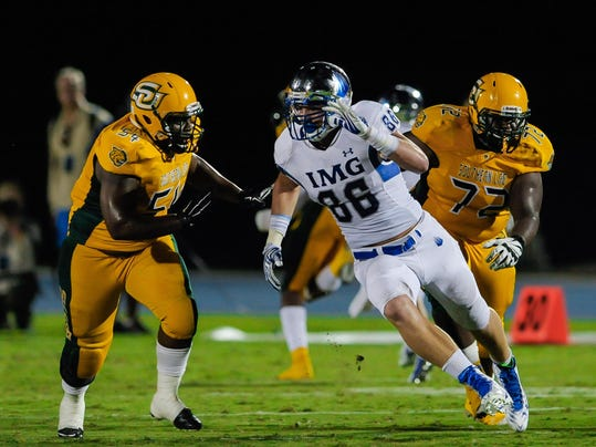 No. 9 IMG Academy defeats Southern Lab 42-0